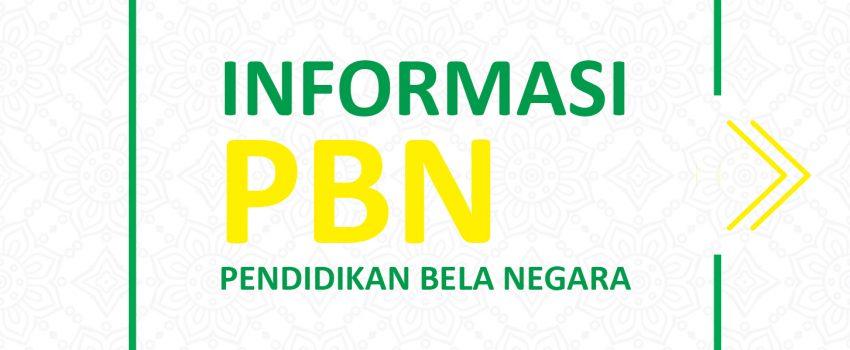 Informasi PBN Pendidikan Bela Negara